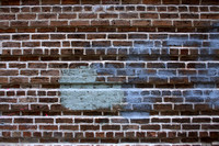 Brick wall grunge background #3
